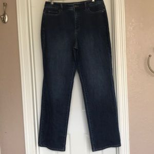 Coldwater Creek Classic Fit Straight Leg Jeans